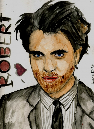 Robert Pattinson by Laura1995